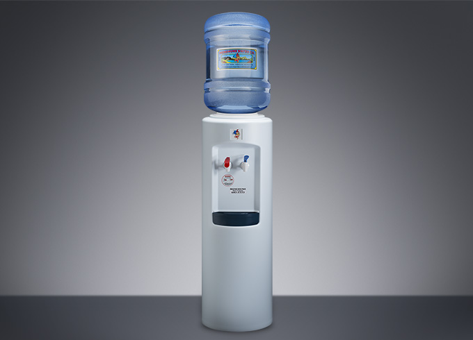 hot and cold water dispenser white w5 gallon menehune