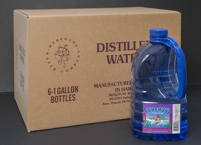 Menehune 1 Gallon Distilled Case Pack